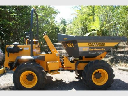 GP Earthworks - Site Dumper Hire