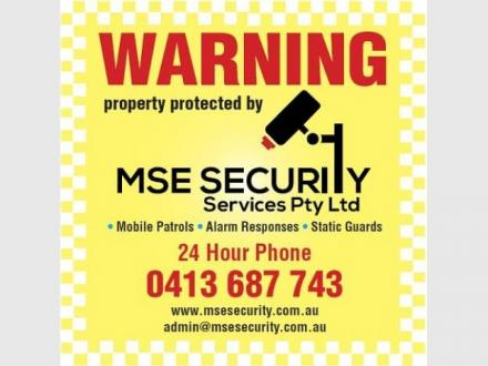 MSE Security Services Pty Ltd