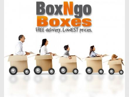 Packing Boxes | Moving Boxes | HALF Price + Free Delivery