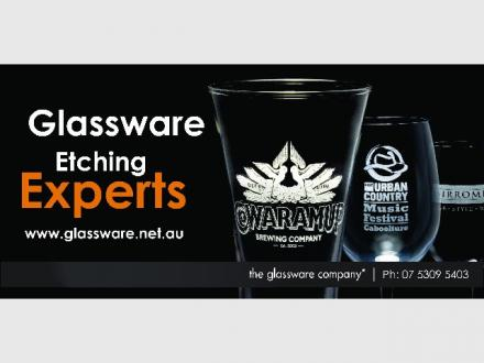 The Glassware Company | Glassware Etching Experts