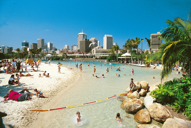 Streets Beach, Southbank Parklands