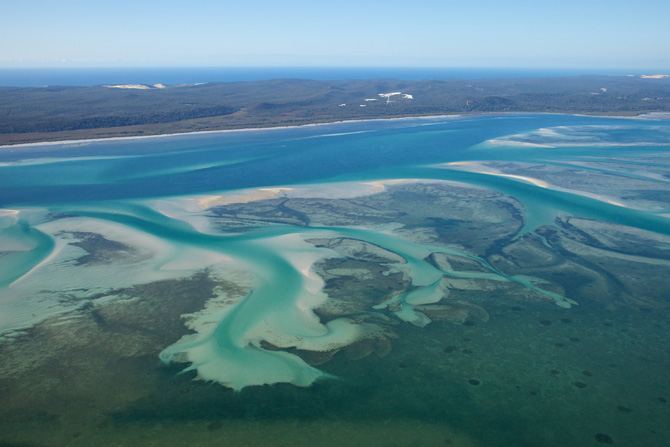 Moreton Bay and Moreton Island