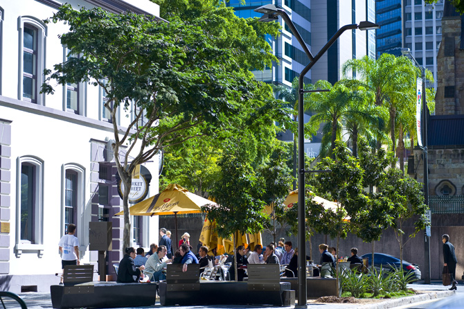 Brisbane Restaurants Alfresco Dining