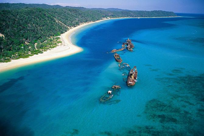 Tangalooma Wrecks Picture Tour Brisbane Australia