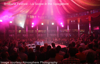 La Soiree in the Spiegeltent