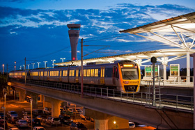 Book Airtrain - Brisbane Airport Train