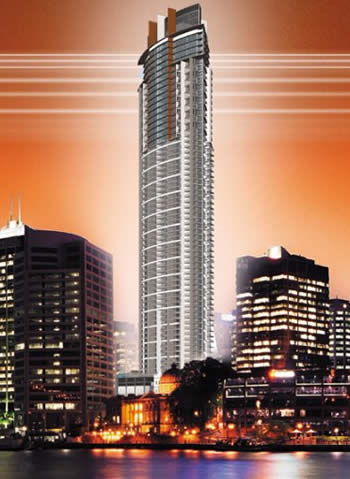 Oaks Aurora Tower Brisbane Australia