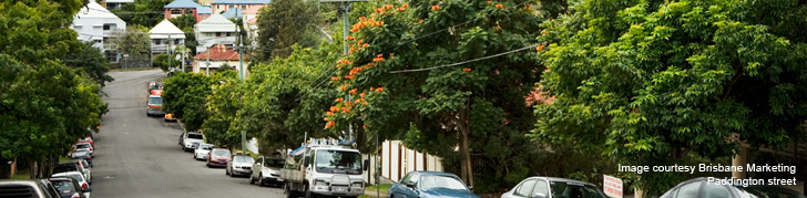 Brisbane suberbs