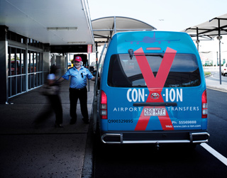 Conxion transfer pickup from airport