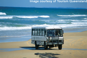 Backpacker Tour on Fraser Island