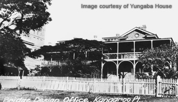 Yungaba house in 1880s