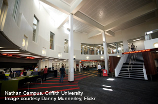 Griffith Uni Nathan Library