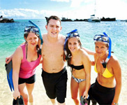 Moreton Island Snorkel and Sand Boarding 4WD Day Trip from Brisbane